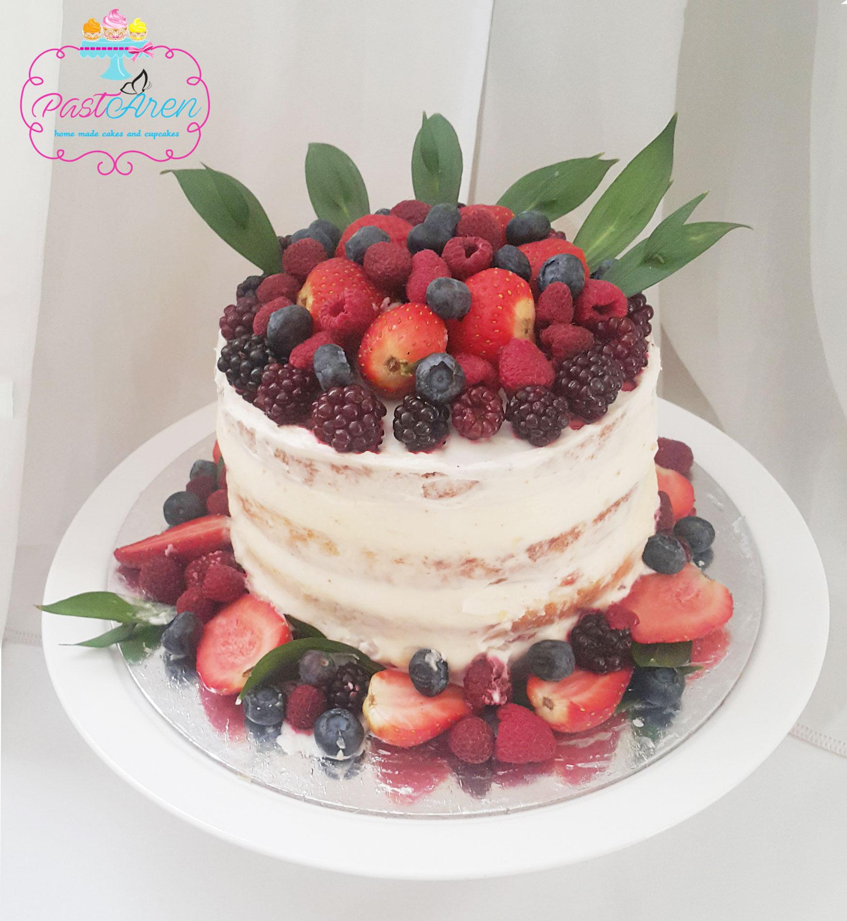Naked Cake – Kaplamasız Pasta